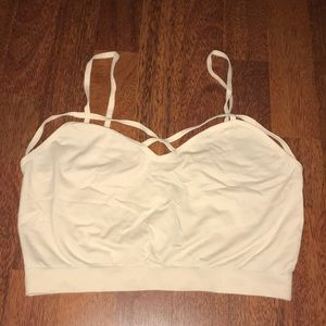 Strappy Front Crop Top